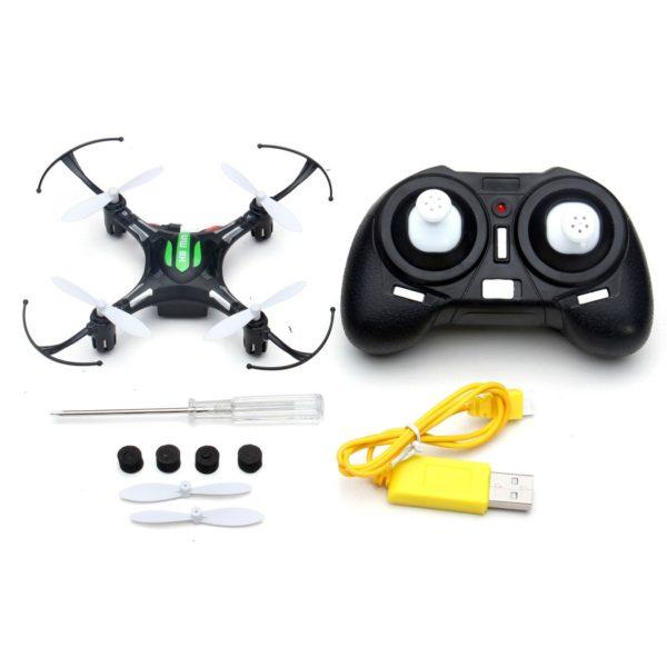 Mini dron - črn