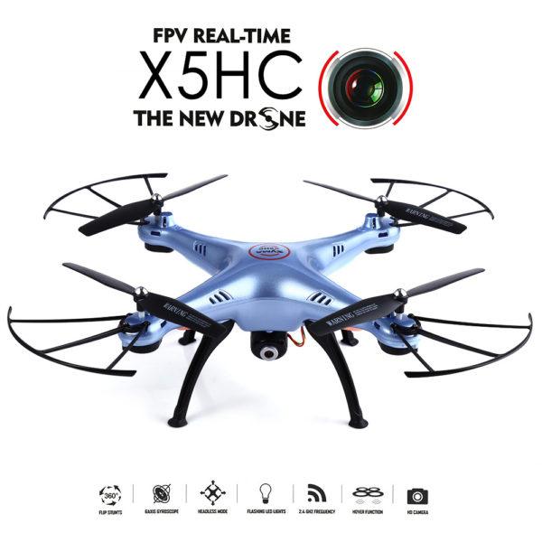 Dron s kamero